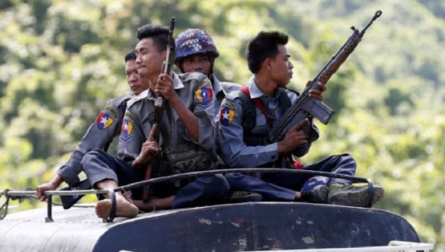 Israel-gives-arms-to-Myanmar-Rohingyas