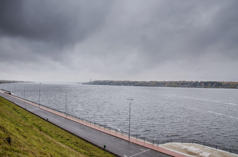 Волга в Кинешме