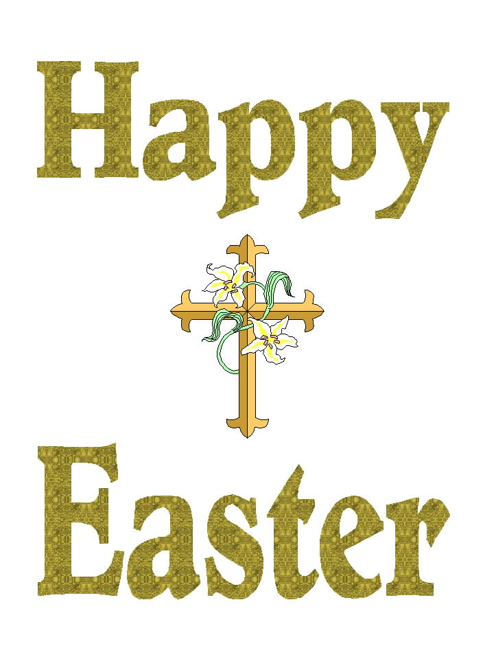 Free Posters and Signs: Happy Easter