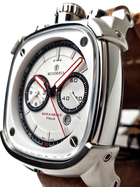 大阪 梅田 ハービスプラザ WATCH 腕時計 ウォッチ ベルト 直営 公式 CT SCUDERIA CTスクーデリア Cafe Racer カフェレーサー Triumph トライアンフ Norton ノートン フェラーリ SCRAMBLER スクランブラ― CS70107N-S