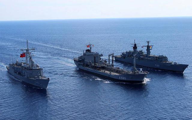 Αυτή είναι η αποβατική δύναμη των Τούρκων κοντά σε Χίο και Σάμο