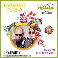 Feria Xmatkuil 2013 Artistas teatro del pueblo