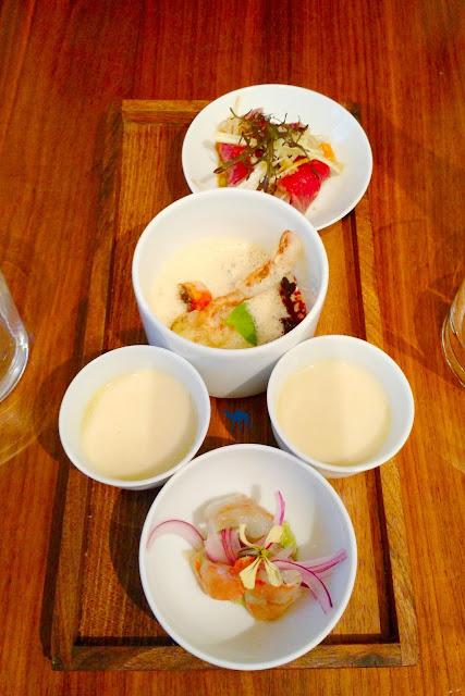 Le Chameau BLeu - Blog de Gastronomie & Voyage -4 Zors d'Oeuvres restaurant KGB Paris
