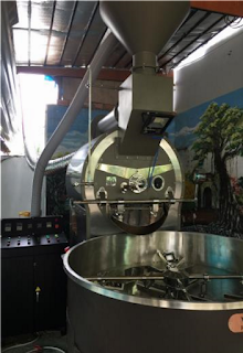 Máy rang cafe Vinaroaster 60kg/1 mẻ