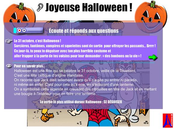 http://www.estudiodefrances.com/exercices/halloween.html