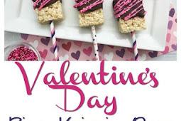 Super Easy Valentine's Rice Krispie Pops #Sweet2019