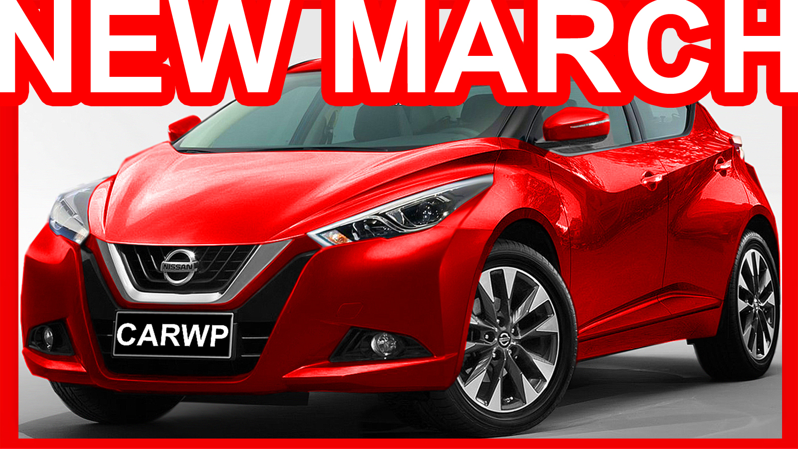 Novo Nissan March 2018 Sway Concept Nissan Carwp