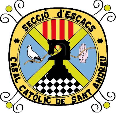 Emblema de la Secció d'Escacs del C.C. Sant Andreu