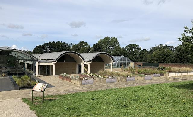 Millennium Seed Bank at Wakehurst, West Sussex.  17 August 2018.