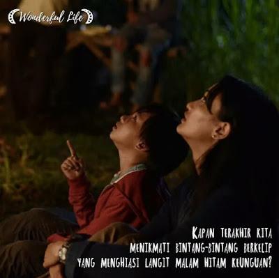 salah satu adegan dalam Film Wonderful Life