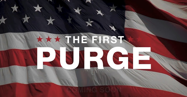 The First Purge 2018 A Nation Reborn Poster