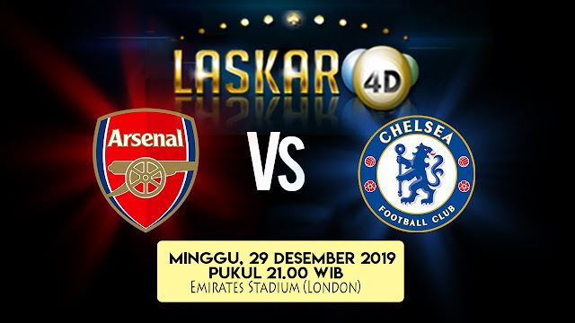 Prediksi Pertandingan Bola Arsenal Vs Chelsea 29 Desember 2019