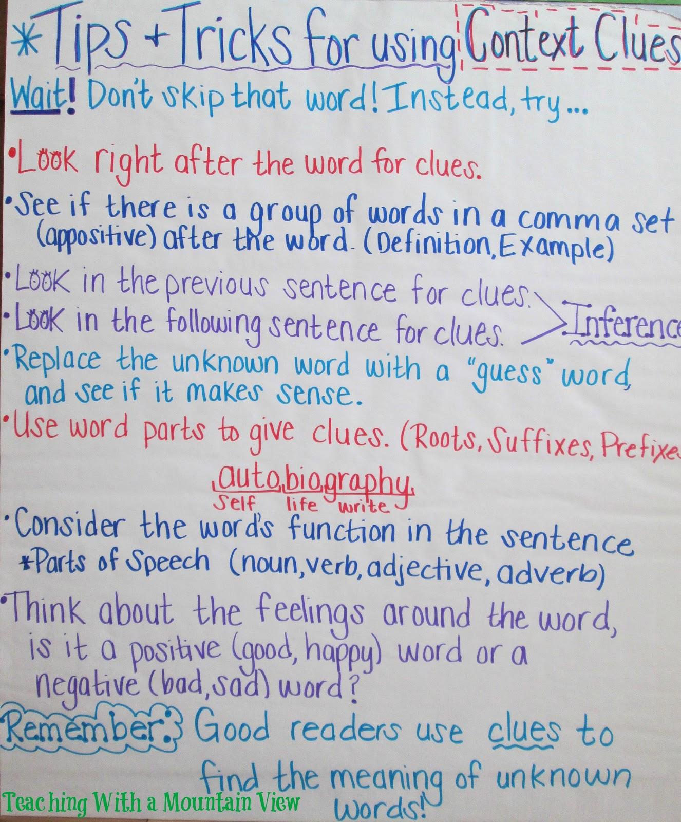 Examples Of Context Clues Sentence | David Simchi-Levi