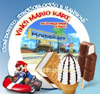 Logo Concorso Sammontana '' Vinci  Mario Kart, più di 1.000 premi in palio!''