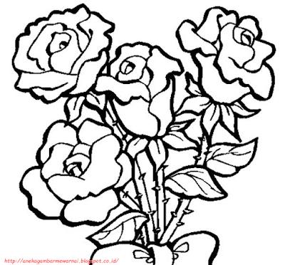 gambar bunga mawar - 2