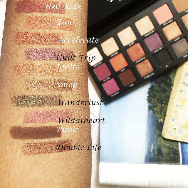 Urban Decay Born to Run Palette Review