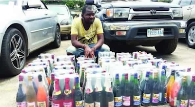 Producer of adulterated wine arrested in Lagos