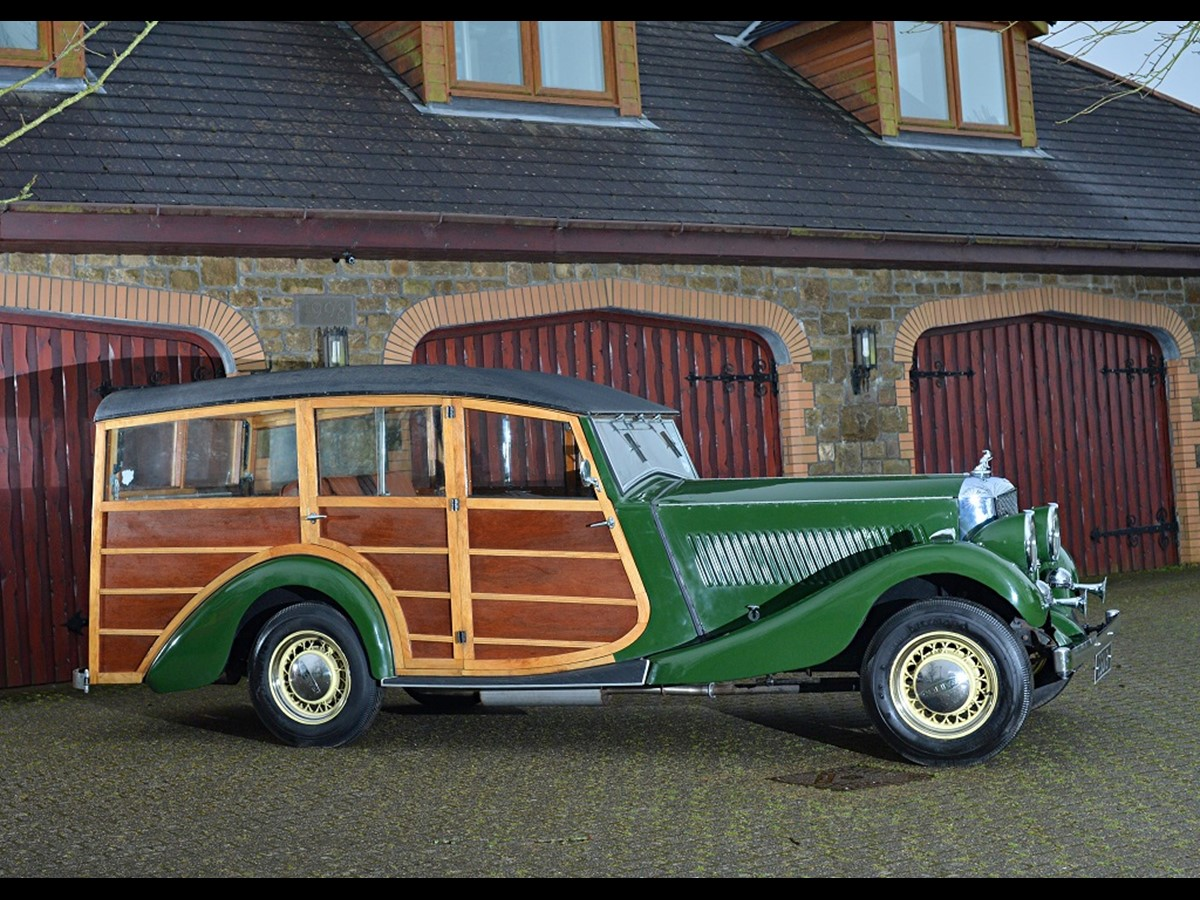 COMING TO AUCTION From Classic Chatter: 1935 RAILTON EIGHT \'WOODY ...