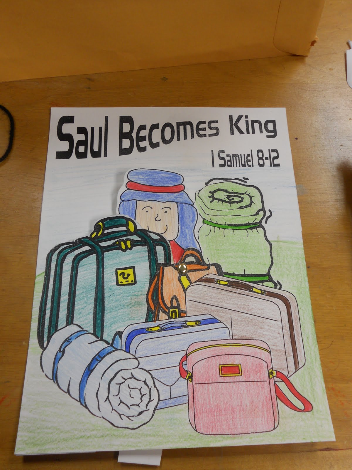 Hands On Bible Teacher Saul Anointed King Of Hebrews By