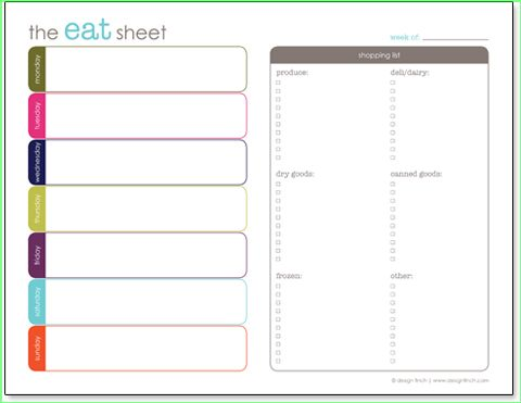 Doc731576 Free Menu Planner Template 17 Best ideas about Meal – Free Menu Planner Template