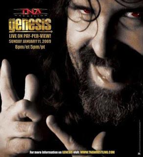 TNA Genesis 2009 - Event Poster