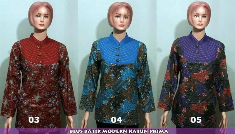 blus-batik-pekalongan-modern-harga-murah