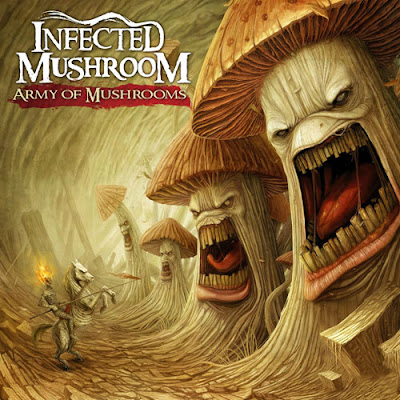 The Best Album Artwork of 2012 - 07. Infected Mushroom - Army of Mushrooms