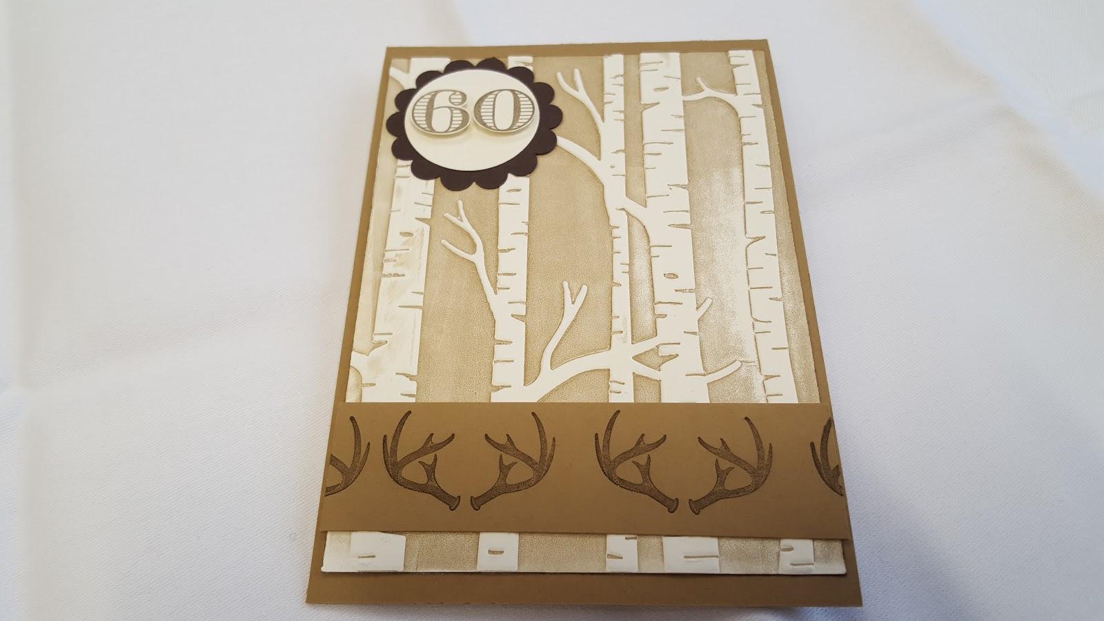 Handmade By Bettina Manner Geburtstags Karte Fur Einen Jager 3 0