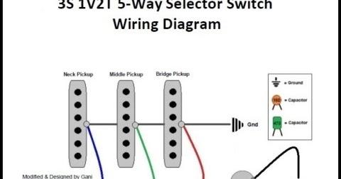 ganitrisna's blogsite: 3S 1V2T 5Way Selector Switch