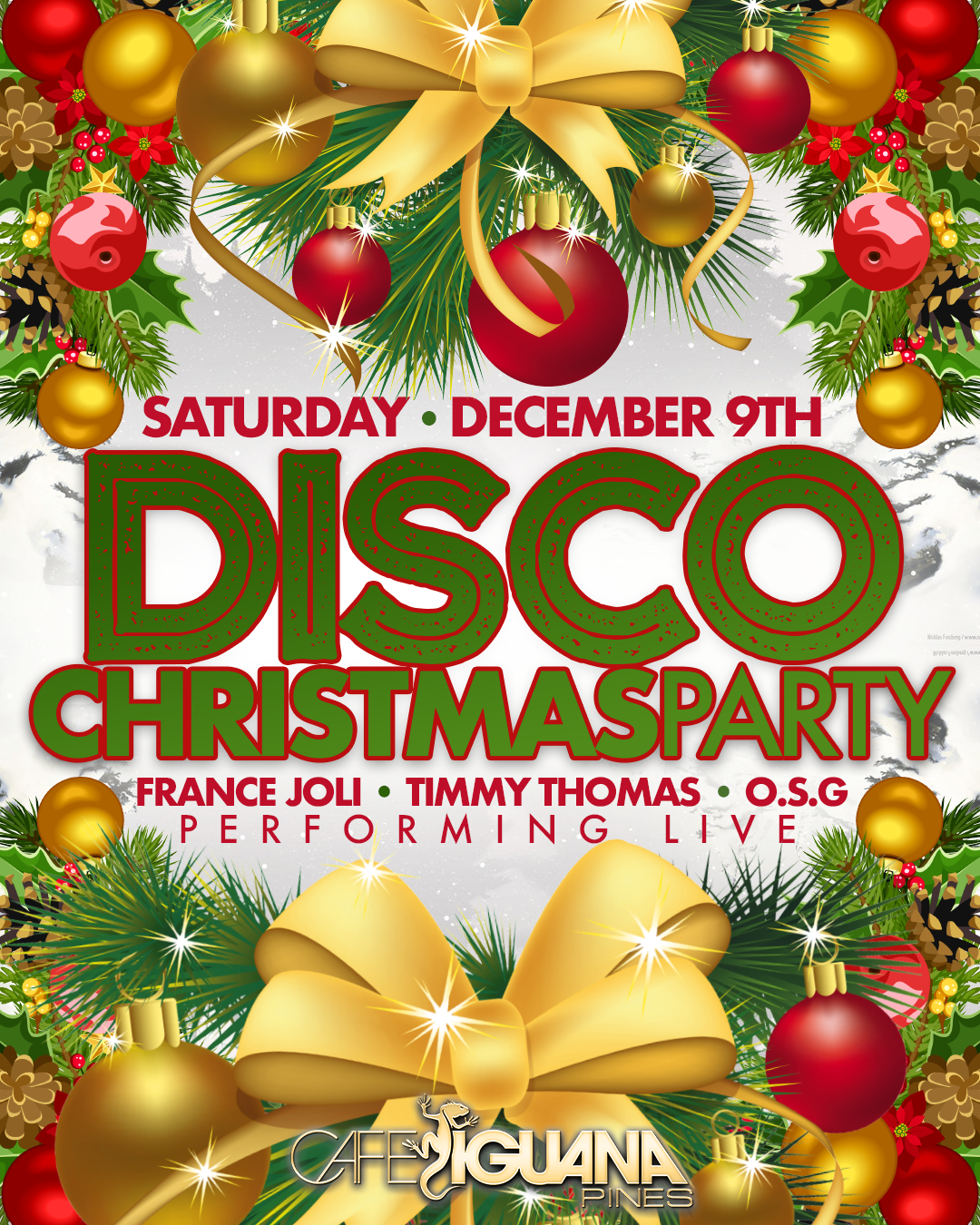 Christmas Disco Clipart.Disco Christmas Party Ft France Joli Timmy Turner Osg