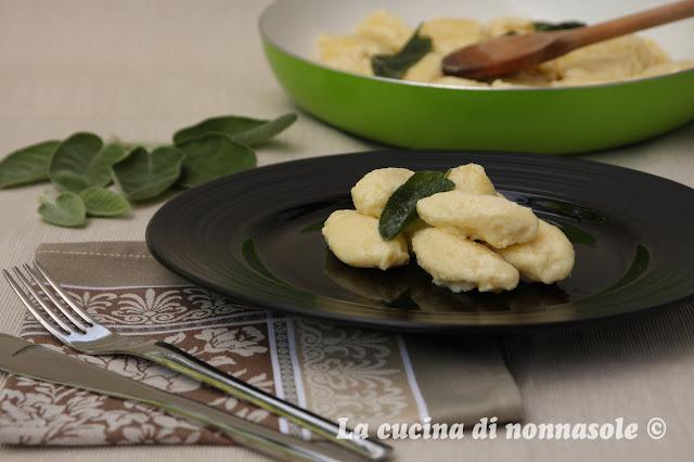 La cucina di Nonna Sole: Gnochi con la fioreta... Per quanti modi di ...
