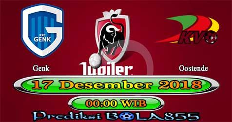 Prediksi Bola855 Genk vs Oostende 17 Desember 2018