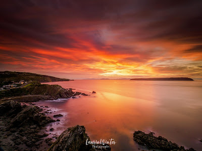 New Zealand, NZ, Wellington, Sunset, Sunrise, Titahi Bay, Porirua, Mana Island