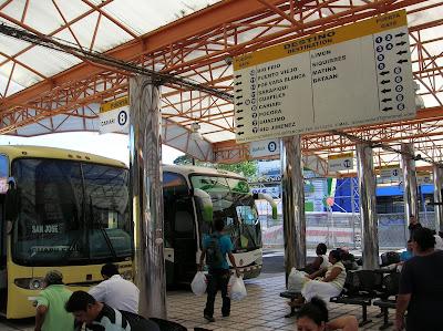 Terminal del Caribe, San José, Costa Rica, vuelta al mundo, round the world, La vuelta al mundo de Asun y Ricardo, mundoporlibre.com