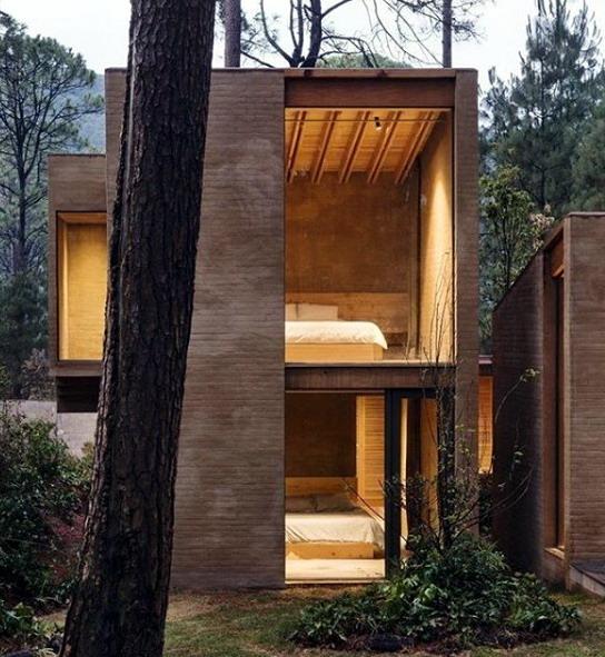 rumah minimalis 1 warna