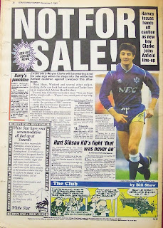 Back page of an old Star Sunday Sport newspaper