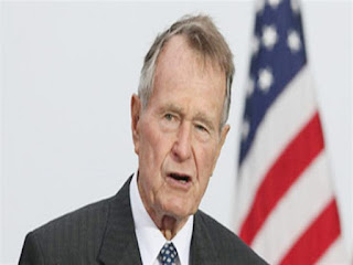 Former US President George HW Bush (father) died at 94