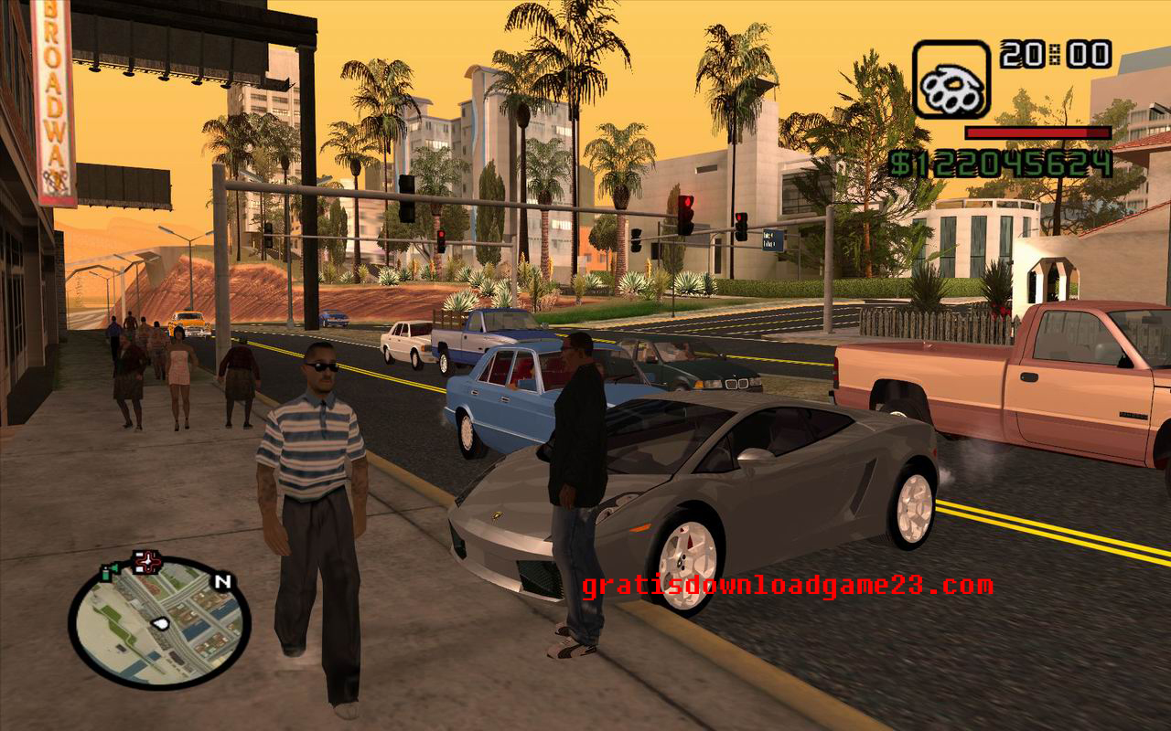 GTA (Grand Theft Auto) San Andreas