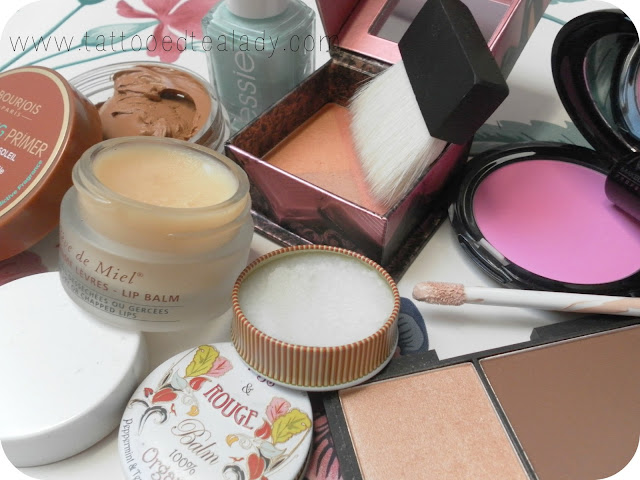 A picture of beauty products not worth the hype