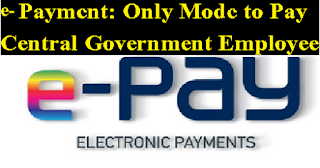 e-Payment-Only-Mode-to-Pay-CG-Employee