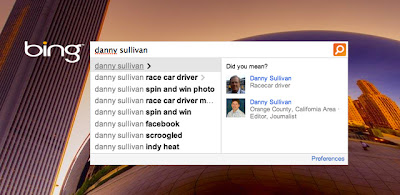 Bing Danny Sullican Auto Search