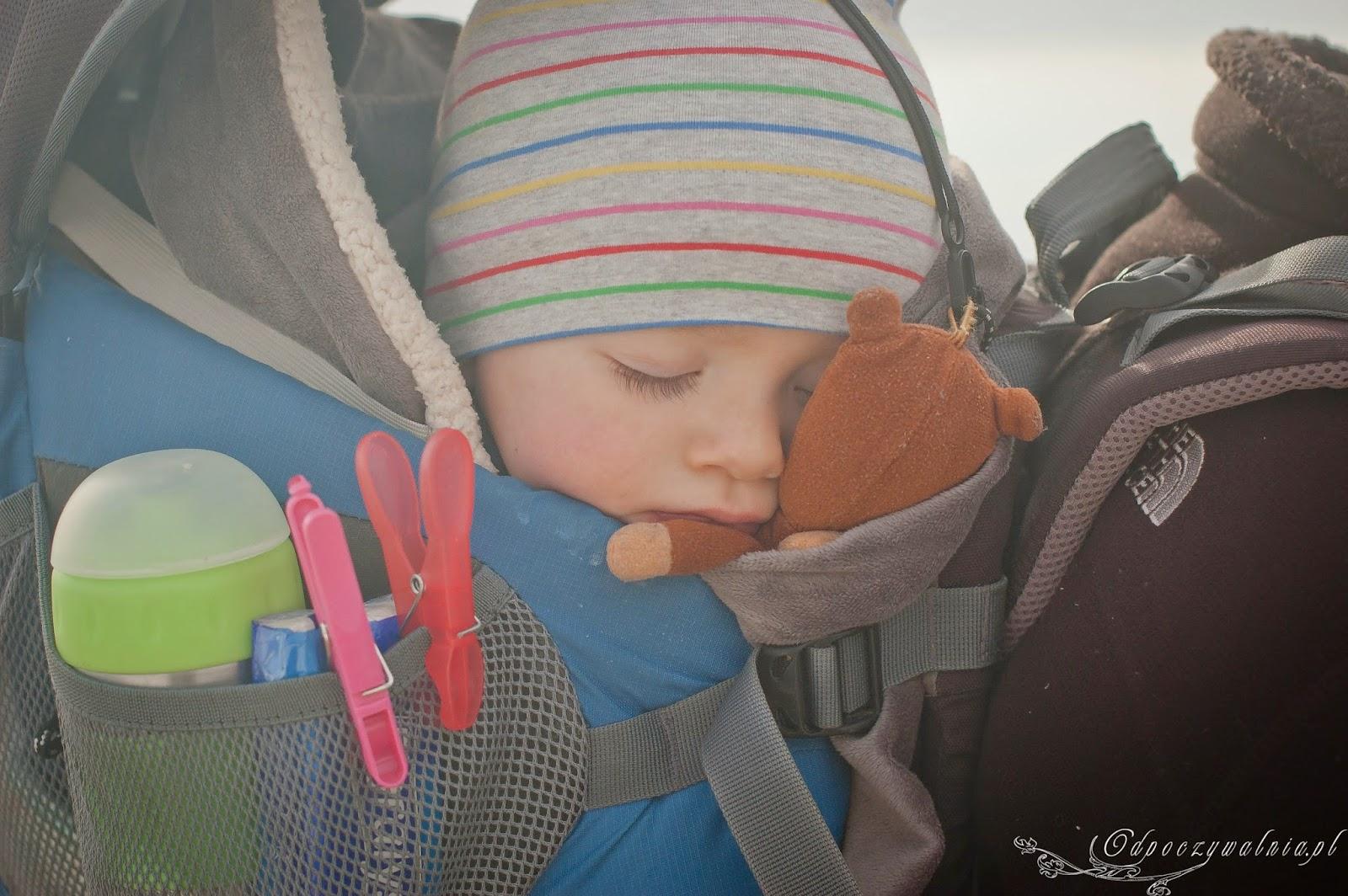 nosidło deuter, górskie nosidło, trekking z dziećmi