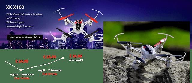 XK X100 Quadcopters Sale
