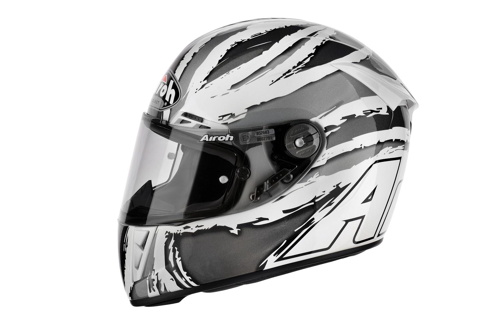 Casque Airoh Helmet Bargy Design Passion Moto Et Voyage
