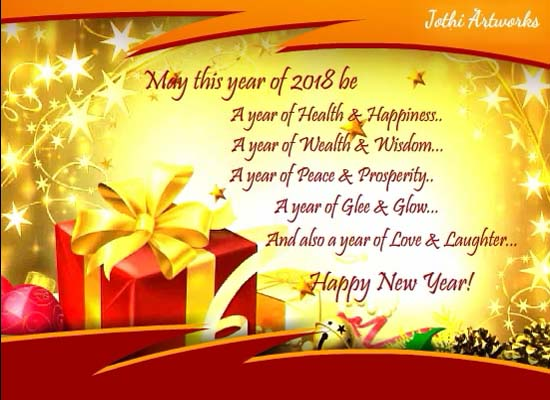 i wish you happy new year greetings