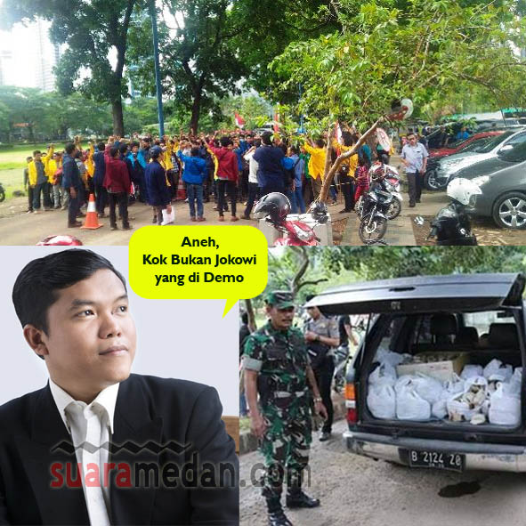 Demo di Depan Rumah SBY di Tunggangi Aktor Politik