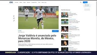 Palmeiras? Valdivia Define Onde Vai Jogar em 2020