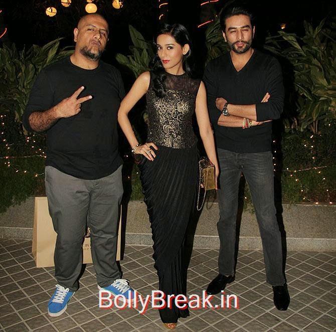 Vishal Dadlani, Amrita Rao and Shekhar Rajvijyan, Bollywood Celebrities At Farah Khan's GRAND 50th Birthday Party