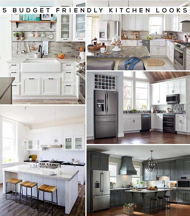 5 Budget-Friendly Kitchen Looks (+ How to Get Them!)