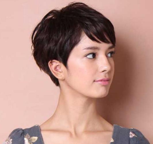 Gaya rambut pendek wanita korea (2)